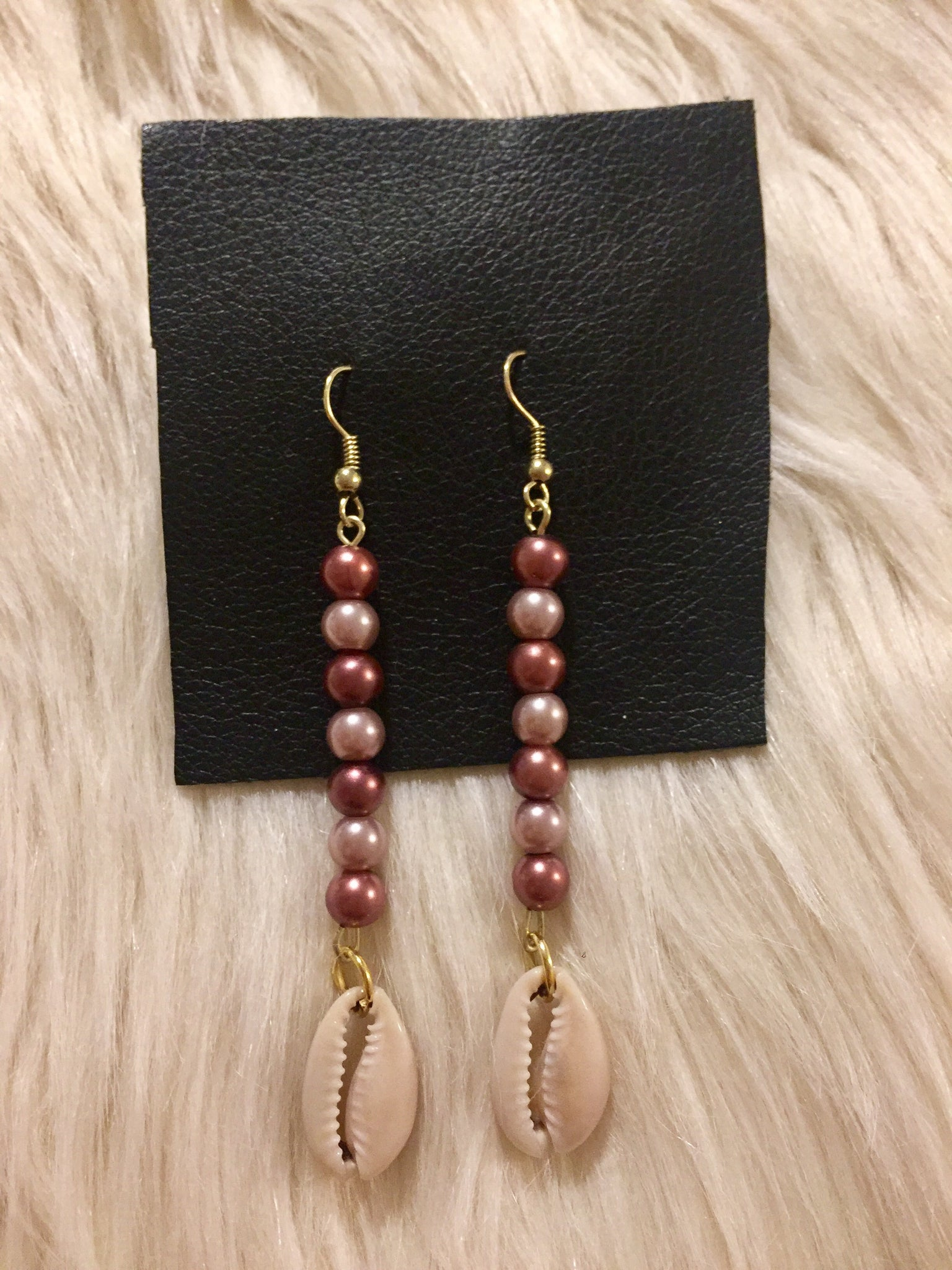 Rosita Cowrie Earrings