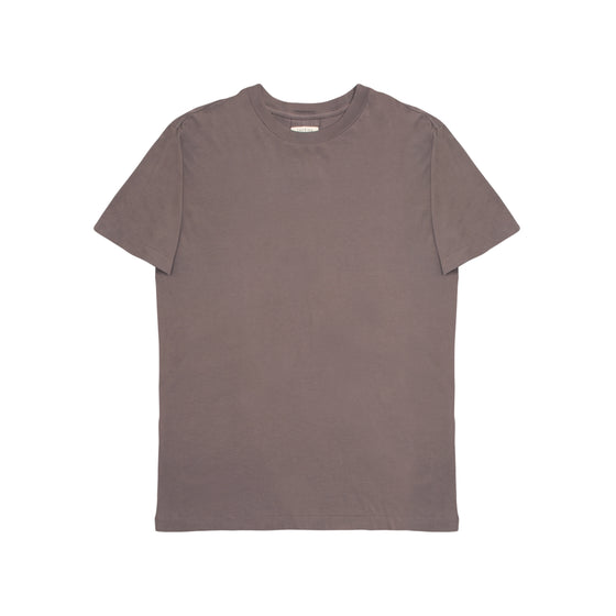 Argyle Slim Fit Tee - Ash Brown