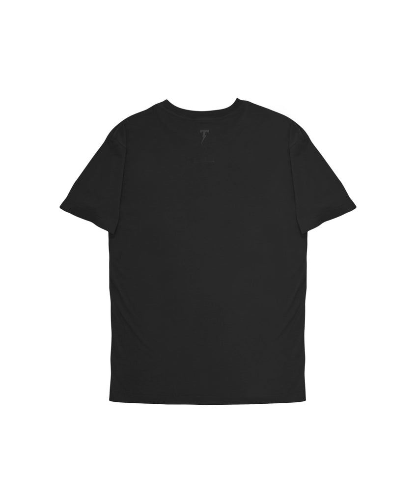 Argyle Slim Fit Tee - Black