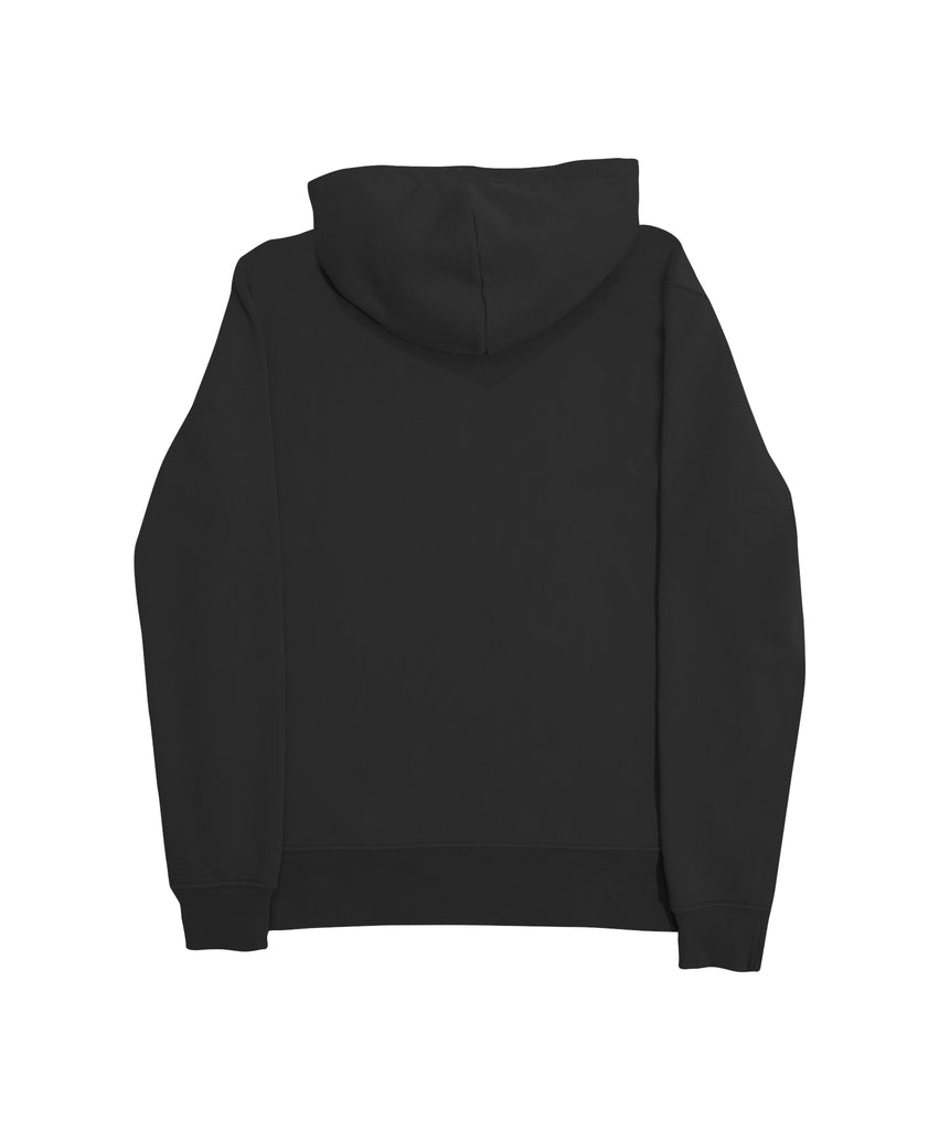 Avalon Crewneck Hood - Black