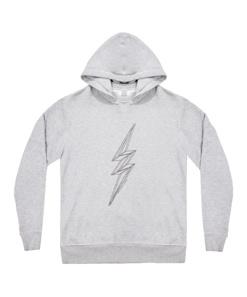Avalon Crewneck Hood - Heather Gray