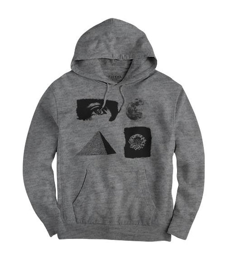 All Seeing Eye Hoodie - Heather Gray