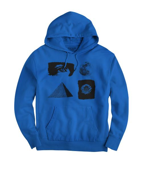 All Seeing Eye Hoodie - Royal Blue