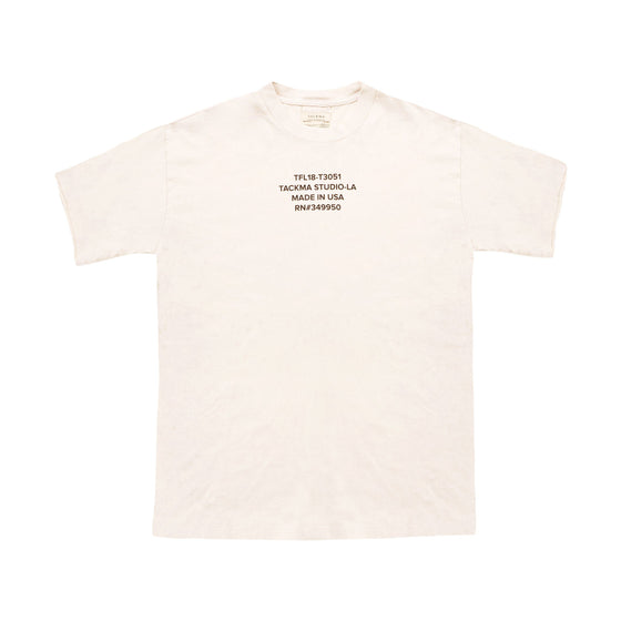 Finley Boxy Fit Tee - Ivory