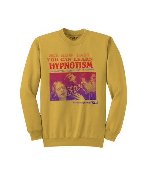 The School of Hypnotism Crew Sweatshirt - Gold