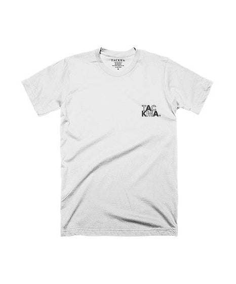 Mapping Tee - White