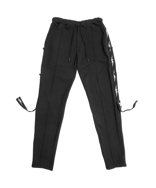 Las Palmas Trouser Sweatpant - Black