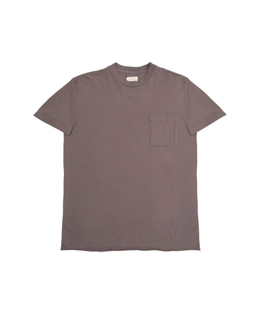 Sunset Boxy Fit Tee - Ash Brown