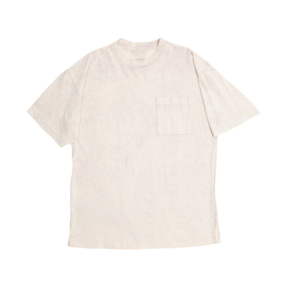 Sunset Boxy Fit Tee - Ivory