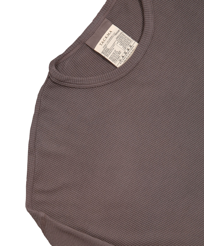 Willoughby Long Sleeve Thermal - Ash Brown