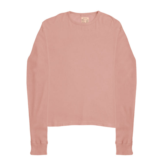 Willoughby Long Sleeve Thermal - Clay Pink