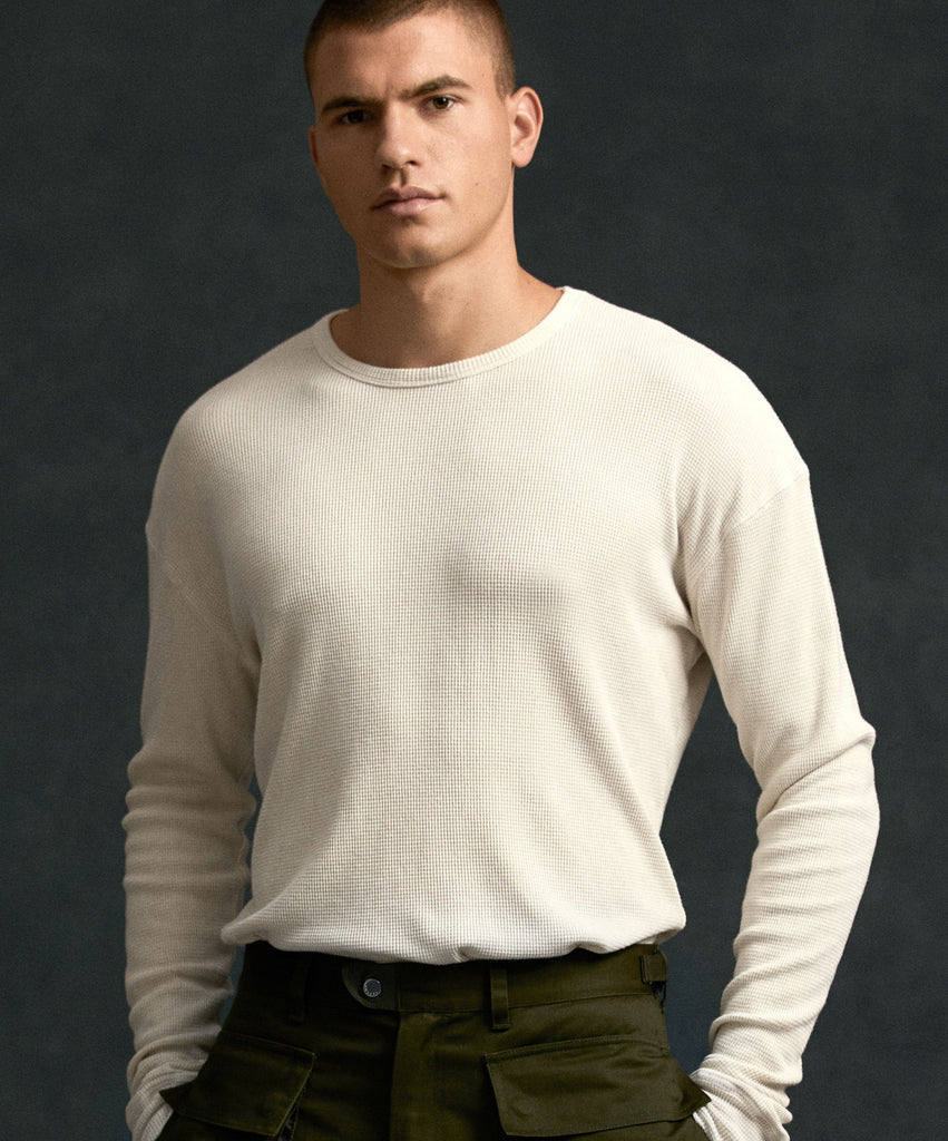 Willoughby Long Sleeve Thermal - Ivory