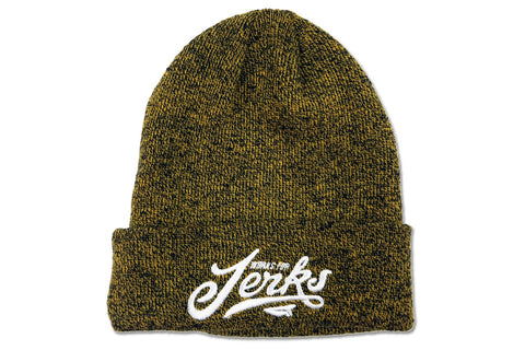 Work's For Jerks beanie