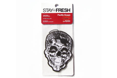 Chaz Bojorquez Happy Skull air freshener
