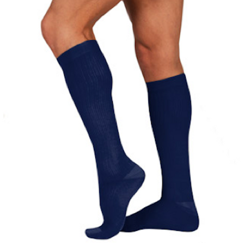 Juzo Men's Dynamic Cotton, Knee High