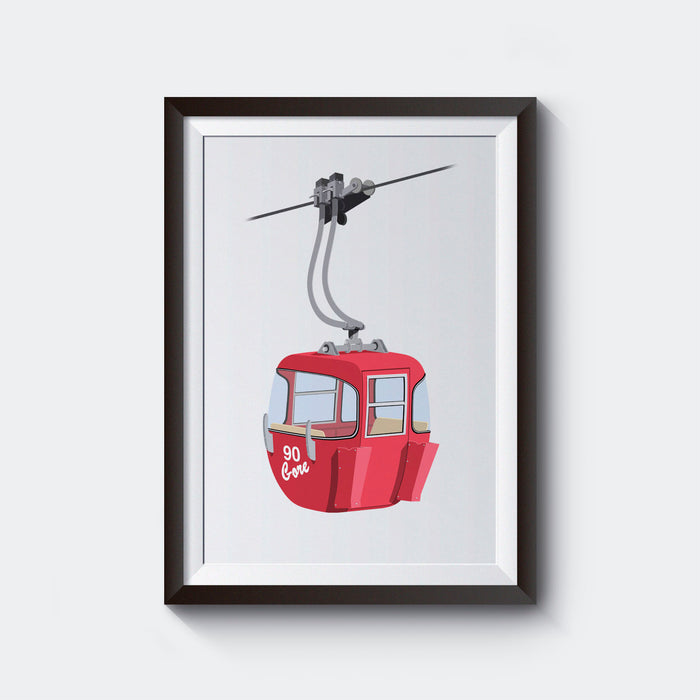 Gore Old Red Gondola