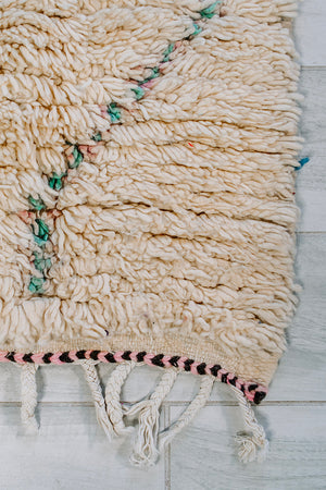 "THIS IS HOW WE DO IT BERBER RUG 9'5"" x 2'8"""