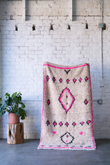 [SOLD] RINSE AND REPEAT azilal vintage moroccan berber carpet