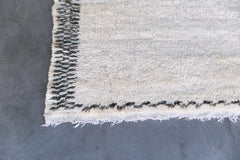 [SOLD] YOU ONLY GET ONE beni ourain vintage moroccan berber carpet
