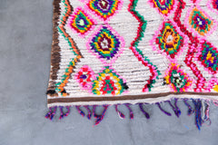 [SOLD] YOU MAKE ME FEEL LIKE DANCIN' azilal vintage moroccan berber carpet