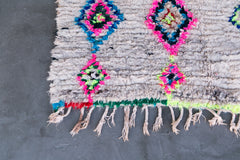 [SOLD] THE RUNAROUND azilal vintage moroccan berber carpet