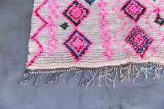 [SOLD] DREAM BOAT vintage moroccan berber carpet