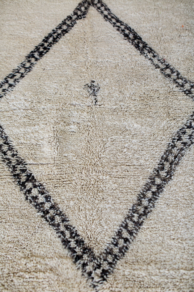 [SOLD] GIRL'S BEST FRIEND boucherouite vintage moroccan berber carpet