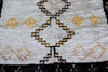 [SOLD] HONEY BEE BEE boucherouite vintage moroccan berber carpet