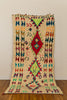 [SOLD] DIMENSION-X boucherouite vintage moroccan berber carpet