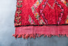 [SOLD] ACCEPT THE ROSE azilal vintage moroccan berber carpet