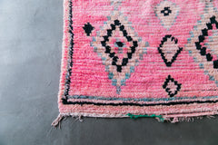 [SOLD] THE BALLEST OF ALLEST boujad vintage moroccan berber carpet