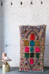 [SOLD] UNICORN DREAMS azilal vintage moroccan berber carpet