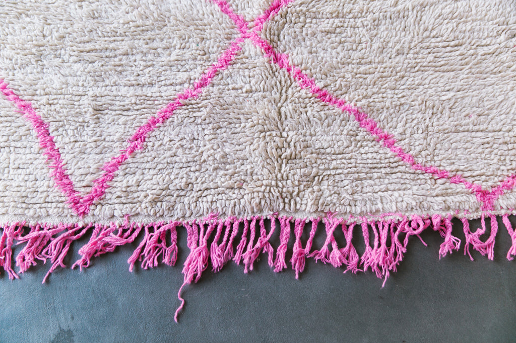 [SOLD] AIN'T GOIN' NOWHERE azilal vintage moroccan berber carpet