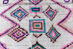 [SOLD] PINK LADY BIRD vintage azilal moroccan berber carpet