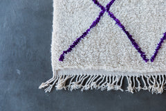 [SOLD] THE ARTIST FORMERLY KNOWN AS COCO vintage ourika moroccan berber carpet