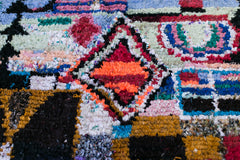 [SOLD] FROM HERE TO ETERNITY boucherouite vintage moroccan berber carpet