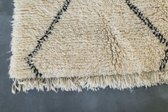 [SOLD] GOIN' TO THE CHAPEL beni ourain boucherouite vintage moroccan berber carpet