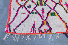 [SOLD] PALM SPRINGS WEEKEND boucherouite vintage moroccan berber carpet