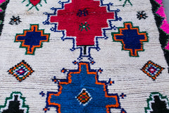 [SOLD] SOUTHWEST SOIREE boucherouite vintage moroccan berber carpet