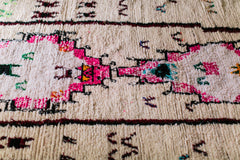 [SOLD] SPACE INVADER : vintage berber carpet