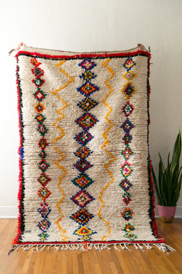 [SOLD] BASIC INSTINCTS vintage berber carpet