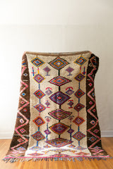 [SOLD] SIXTEEN CANDLES vintage berber carpet