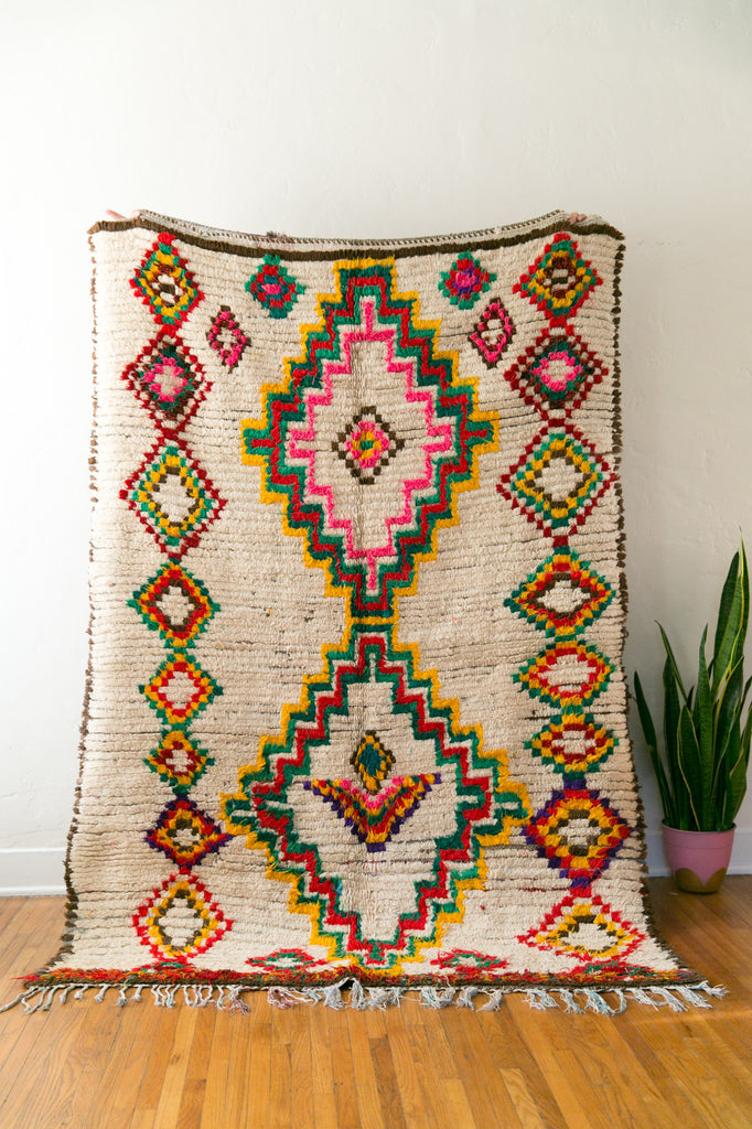 [SOLD] MAROCIZONA vintage berber carpet