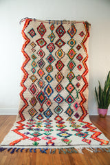 [SOLD] THE COCO KALEIDOSCOPE vintage berber carpet