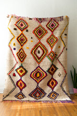 [SOLD] BROWN EYED GIRL vintage berber carpet