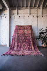 [SOLD] MONET IN MARRAKESH vintage boujaad moroccan berber rug