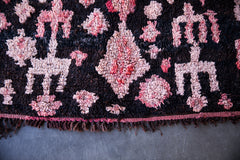 [SOLD] PUSSY HATS vintage ourika moroccan berber rug