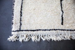 YOUR ART IS THE BEST ART vintage beni ourain moroccan berber carpet