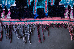 MISSILE COMMAND vintage ourika moroccan berber rug
