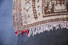 TED GOES TO PROM vintage taznakht moroccan berber rug